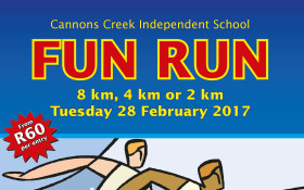 Cannons Creek Independent School Fun Run