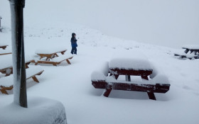 [IN PICTURES] Snow turns Lesotho into winter wonderland