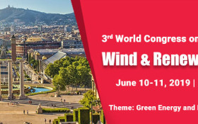 3rd World Congress on Wind & Renewable Energy
