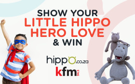 WIN YOUR LITTLE ONE A LIMITED-EDITION HIPPO TOY & R2000 ON Kfm 94.5