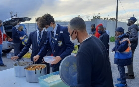 Rondebosch Boys' Grade 11 use next year's matric ball money to feed the needy