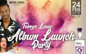 Tebogo Louw Album Launch Party