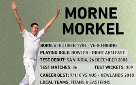 Gentle giant: Morne Morkel retires from international cricket