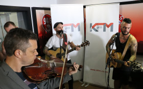 Parlotones Perform LIVE on KFM Brunch