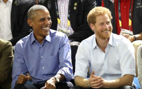 Obama, Prince Harry bromance on display in interview