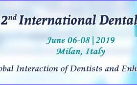 2nd International Dental Conference 2019