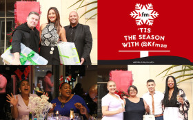IN PICS: Cape Town celebs & influencers celebrate the holiday season with Kfm