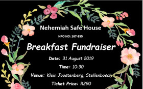 Nehemiah Safe House Breakfast Fundraiser