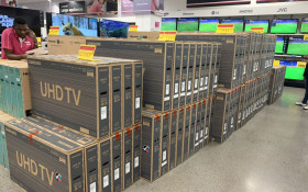 'We want TVs!': Black Friday shoppers up since midnight to get the best deals