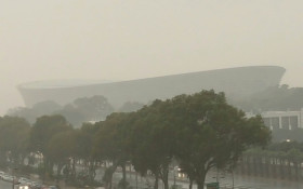 [Watch] It's raining it's pouring! (with thunder and lightning)