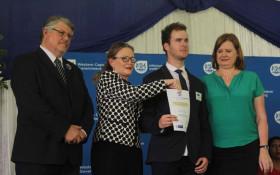 Blind 2017 matric learner honoured at awards ceremony