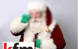 EXCLUSIVE - Santa Claus on Kfm Mornings
