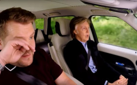 James Corden reduced to tears in latest #CarpoolKaraoke with Paul McCartney