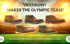 "Local brand ""Veldskoen Shoes"" to be part of the SA Olympic team's uniform"