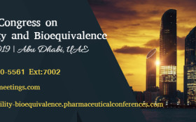 10thWorld Congress on Bioavailability & Bioequivalence