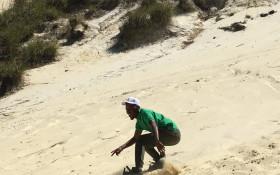 Sandboarding business as usual at Atlantis sand dunes after complaints heard