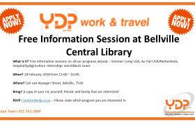 Work & Travel Information Session