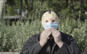 'Friday the 13th' villain Jason Voorhees reminds you to wear your mask