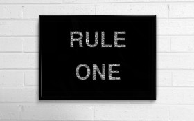 "What is your ""One Rule""?"