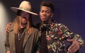 Lil Nas X gifted Billy Ray Cyrus a Maserati to celebrate 'Old Town Road'