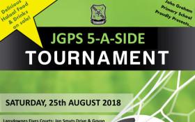 John Graham Primary School's 100th Birthday 5-a-side Football Tournament