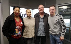 World-renowned South African actor, Arnold Vosloo on Kfm Mornings