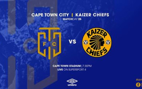 Keep up with Cape Town FC vs Kaizer Chiefs Live Scores