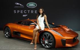The Latest Bond Car