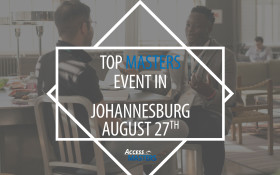 Meet top international Masters programmes in Johannesburg on August 27th!