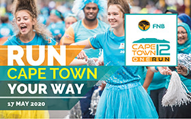 FNB Cape Town 12 ONERUN 2020 – SUNDAY 17 MAY: ENTRIES NOW OPEN