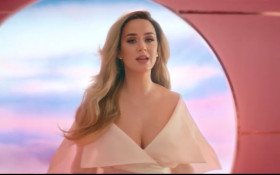 Katy Perry confirms pregnancy in her new music video