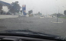 Parts of Cape Town flooded after heavy rains
