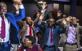 Celebrations in Zimbabwe & SA mark Mugabe's exit