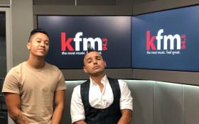Timothy de Monk drops by the Kfm Top40