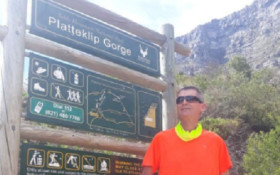 Capetonian (70) completes his 1000th climb up Table Mountain's Platteklip Gorge