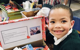 Santa Shoebox Project Pledging: 1 August - 30 September 2018