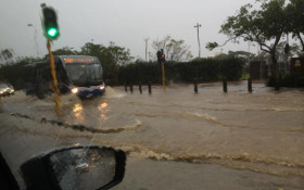 Flooding in the Cape