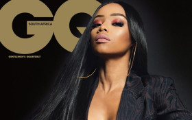 Bonang becomes 1st SA woman to grace 'GQ' mag's local cover stand-alone