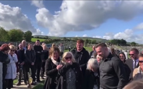 Irishman pulls hilarious prank at his own funeral