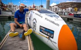 Adventurer Chris Bertish makes history and helps SA children