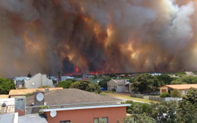 Concerned listeners' live update: Overstrand Fire!