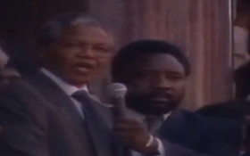 [WATCH] Madiba's first words to the people of South Africa from the Grand Parade
