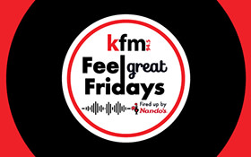 Kfm Feel Great Fridays, fired up by Nando's