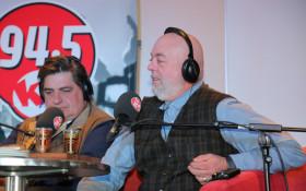 Matt Preston and Pete Goffe-Wood in Studio