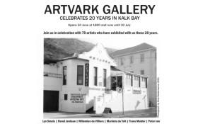 20 Year Anniversary exhibition