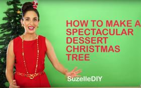 Make An AWESOME Dessert Christmas Tree