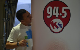 Kfm Breakfast kicks off the Hermanus Whale Festival