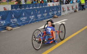 Disabled hand cyclist 'Zig Zag Zach' to race in Knysna Cycle Tour for good cause