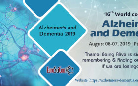 16th World Congress on Alzheimer's and Dementia 2019