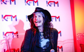 WATCH: Steven Tyler and Kings of Chaos Press Conference